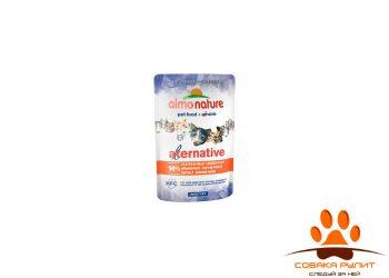 "Almo Nature Alternative Паучи для кошек ""Куриное филе"" 90% мяса"