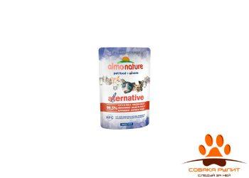 "Almo Nature Alternative Паучи для кошек ""Куриная Грудка""  99,5% мяса"