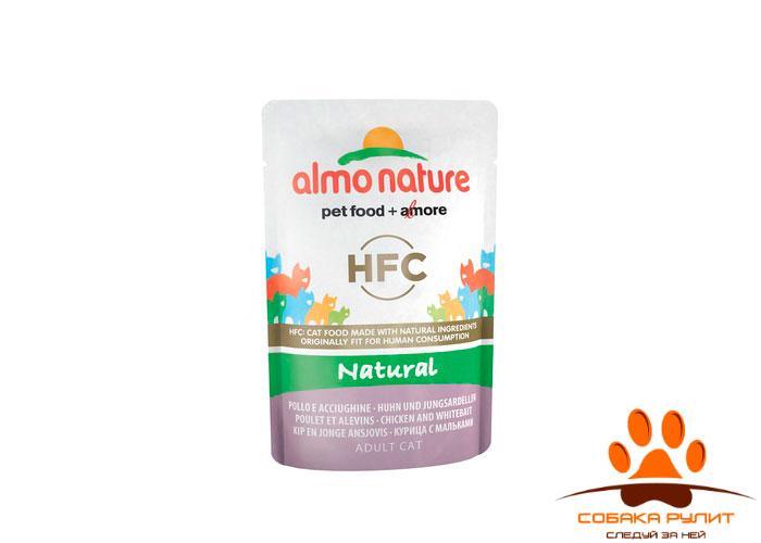 Almo Nature Classic Nature Консервы для кошек 55г (в ассортименте) паучи