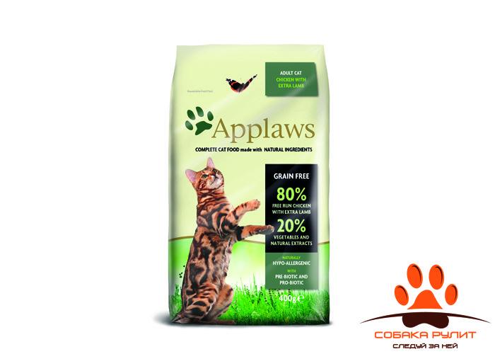 "Applaws Беззерновой для Кошек ""Курица и ягненок 80/20%"" ( Dry Cat Chicken with Lamb)"
