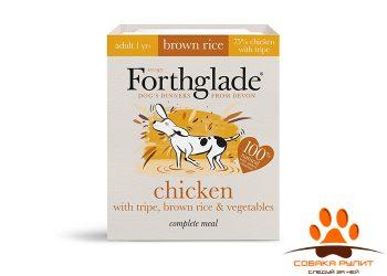 Forthglade Natural Lifestage Chicken with Tripe & Brown rice 395гр (для собак из мяса цыпленка, рубца и коричневого риса)