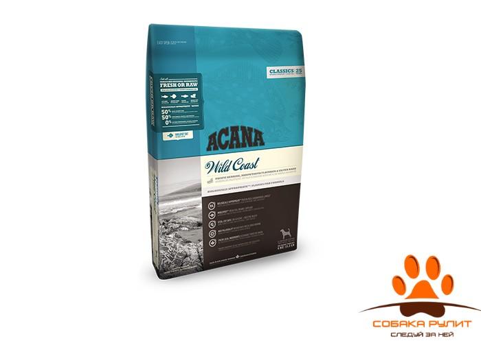 Acana Classics Wild Coast сухой корм д/собак Рыба