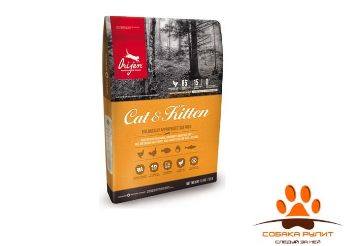 Orijen CAT & KITTEN корм для кошек