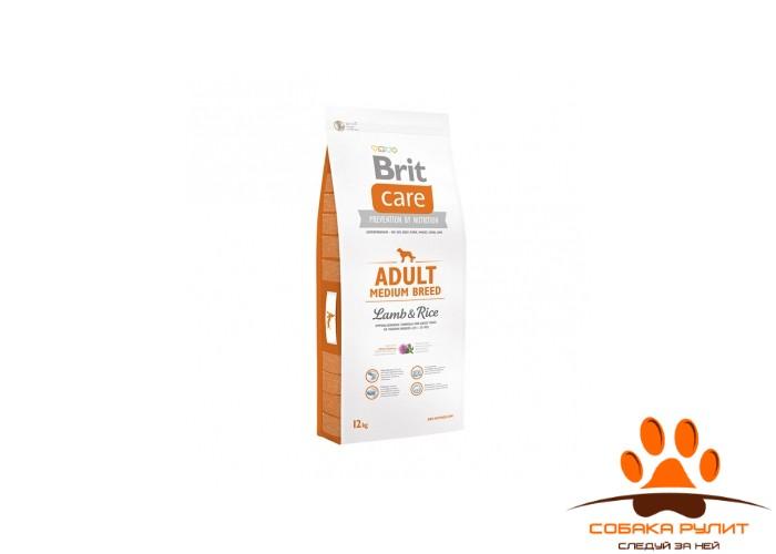 Brit Care «Adult Medium Breed Lamb & Rice»
