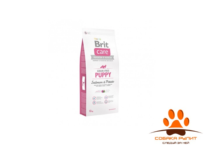 Brit Care «Grain-free Puppy Salmon & Potato»