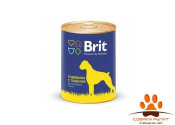 Консервы «Premium» для активных собак 850г