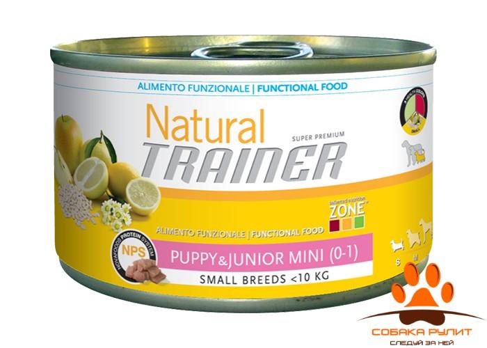 Консервы Trainer Natural Mini Puppy & Junior
