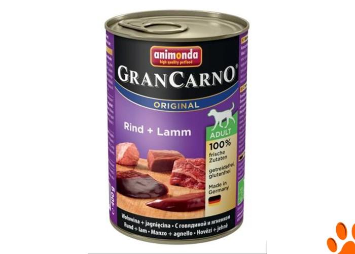 GranCarno Original Adult – с говядиной и ягненком