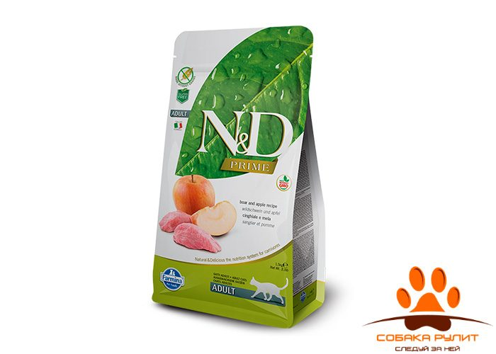 Farmina N&D Cat Boar & Apple Adult
