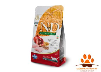 Farmina N&D Low Grain Cat Chicken & Pomegranate Adult
