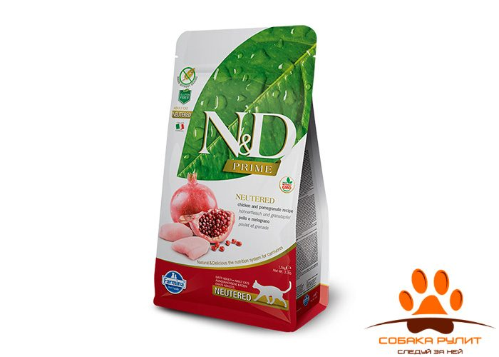 Farmina N&D Cat Chicken & Pomegranate Neutered