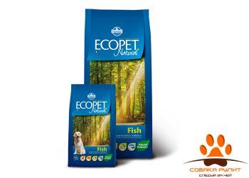 Farmina Ecopet Dog Natural Fish Maxi 12 кг