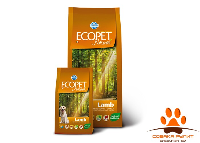 Farmina Ecopet Dog Natural Lamb Maxi 12 кг