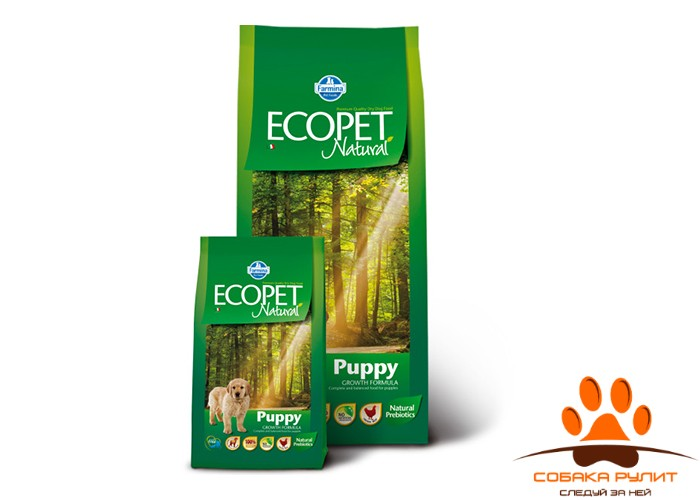 Farmina Ecopet Dog Natural Puppy Mini