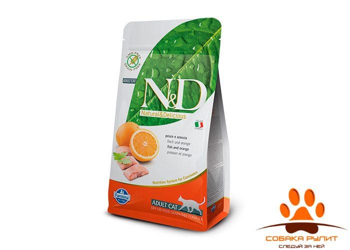 Farmina N&D Cat Fish & Orange Adult