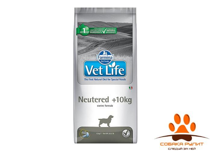 Farmina Vet Life  Dog Neutered +10kg