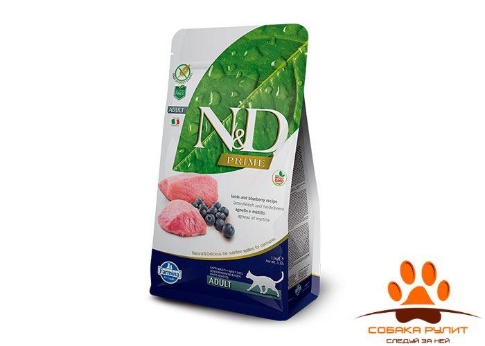 Farmina N&D Cat Lamb & Blueberry Adult