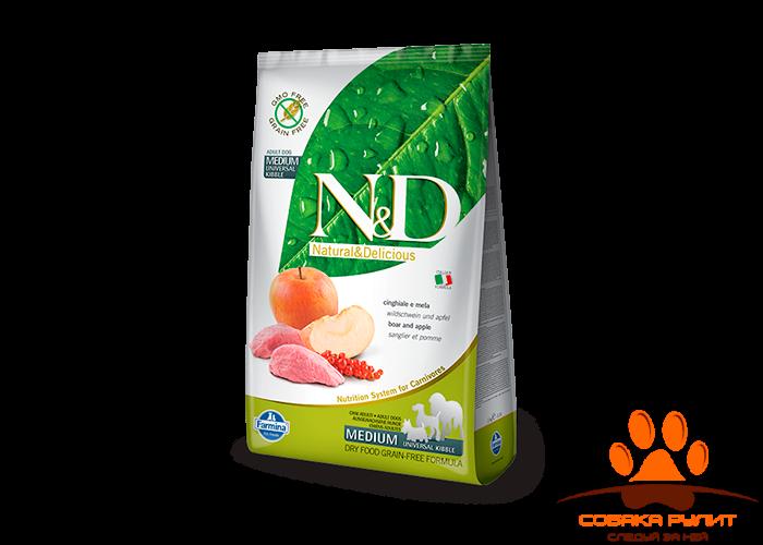 Farmina N&D Dog Boar & Apple Adult