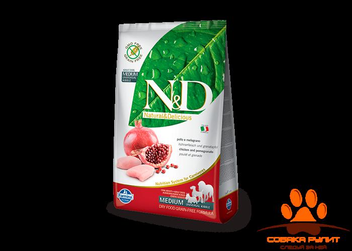 Farmina N&D Dog Chicken & Pomegranate Adult