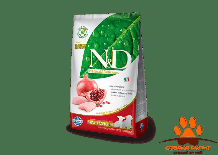 Farmina N&D Dog Chicken & Pomegranate Puppy Mini