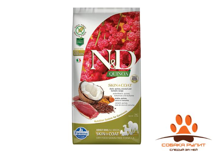 Farmina N&D Dog Quinoa Skin&coat Duck