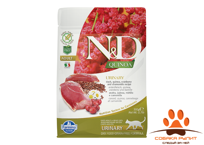 Farmina N&D Cat Quinoa Urinary Duck