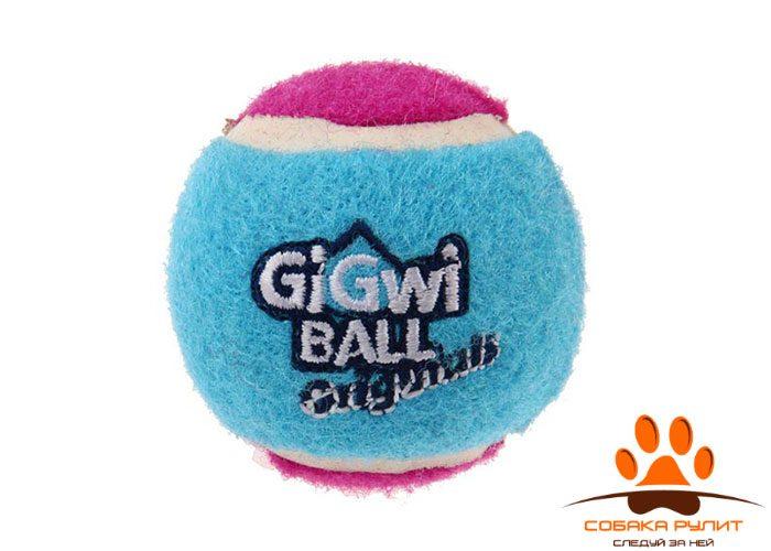 GiGwi Мячи (3 мяча с пищалкой) большой р-р