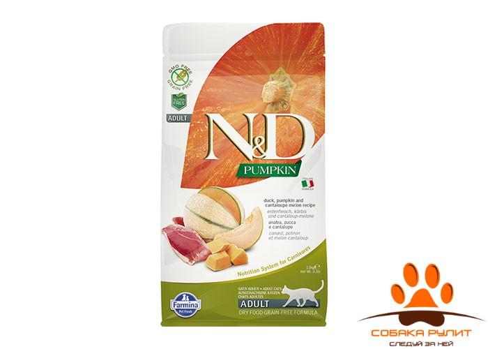 Farmina N&D Cat GF Pumpkin Duck