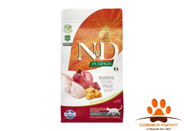 Farmina N&D Cat GF Pumpkin Quail