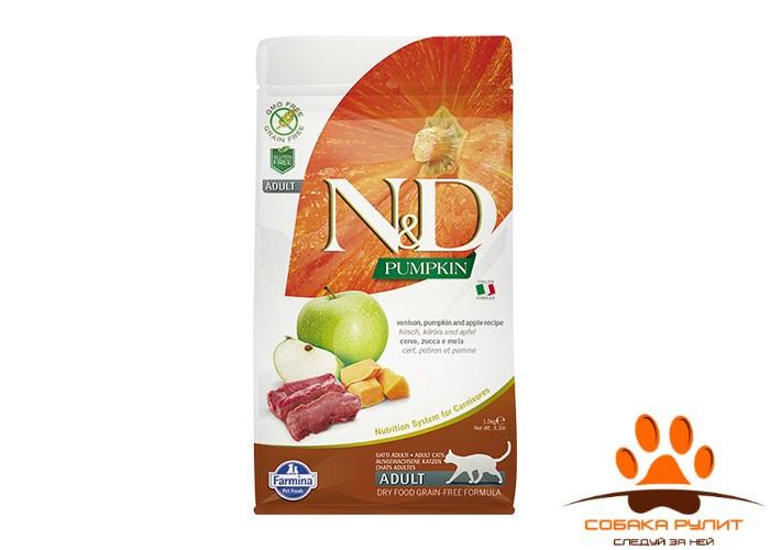 Farmina N&D Cat GF Pumpkin Venison