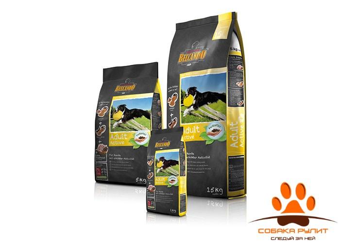 Корм Belcando для собак с повышенной активностью, Adult Active 15 кг