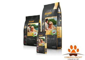Корм Belcando для взрослых собак с индейкой и сельдью, Dinner 15 кг
