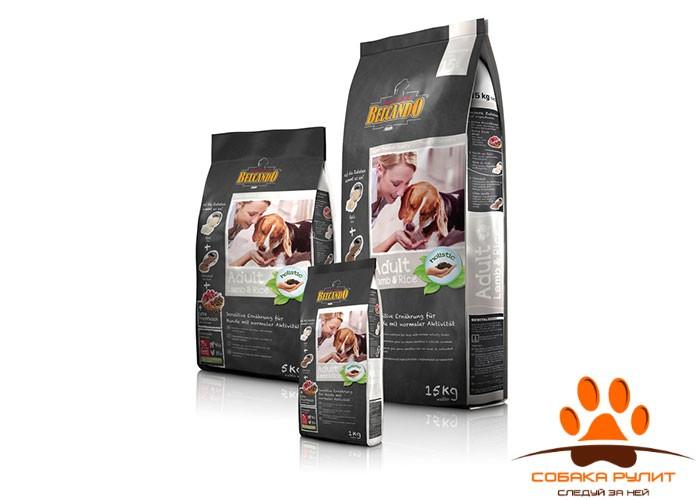 Корм Belcando для собак с ягненком и рисом, Adult Lamb&Rice