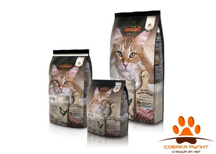 Leonardo Adult Maxi GF / Сухой беззерновой корм для кошек Леонардо эдалт макси