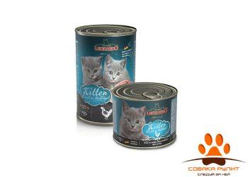 Leonardo Quality Selection Kitten Rich In Poultry / Консервы Леонардо для котят с птицей