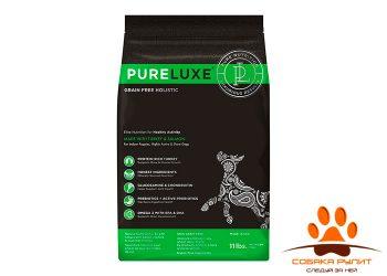 PureLuxe Элитное Питание для активных собак с индейкой и лососем