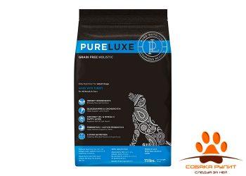 PureLuxe Элитное Питание для взрослых собак с индейкой