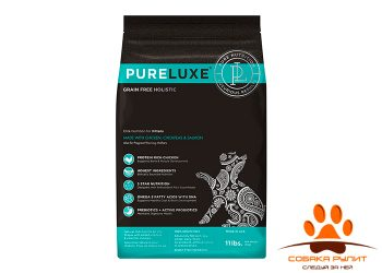 PureLuxe Элитное Питание для котят с курицей, нутом и лососем