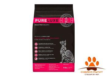 PureLuxe Элитное Питание для домашних кошек с индейкой и лососем