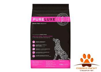 PureLuxe Элитное Питание для нормализации веса собак с индейкой, лососем и чечевицей