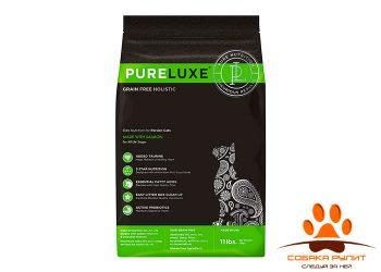 PureLuxe Элитное Питание для персидских кошек с лососем