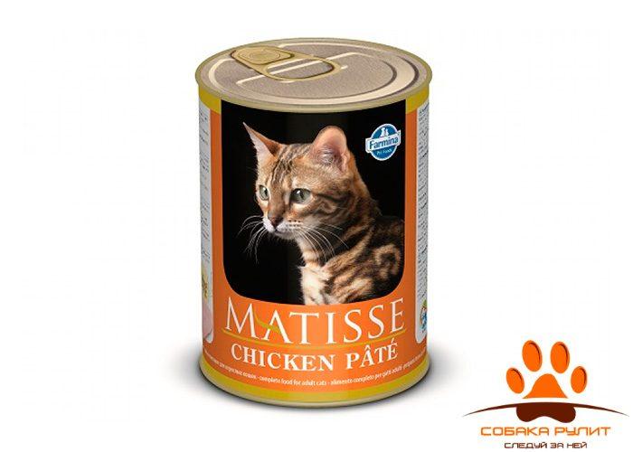 Matisse консервы для кошек Паштет с курицей 400 г