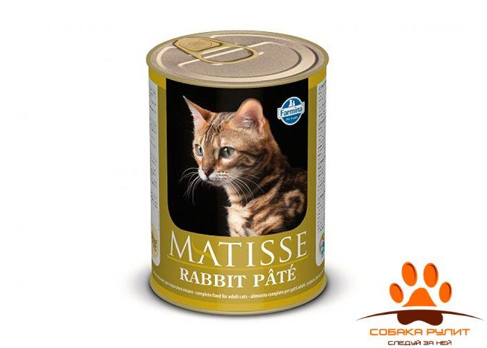 Matisse консервы для кошек Паштет с кроликом 400 г