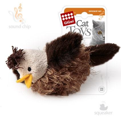 Птичка со звуковым чипом