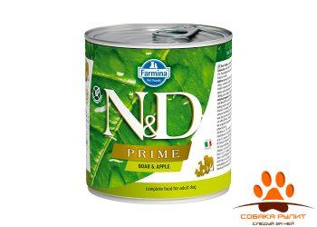 Farmina N&D Prime Dog Wet Boar & Apple