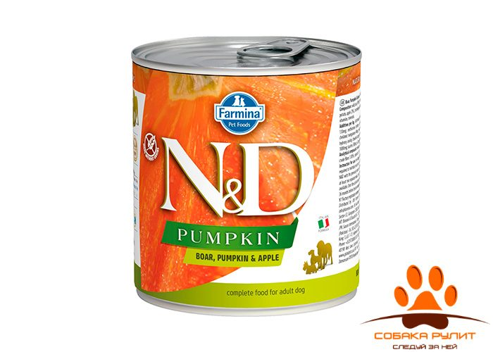 Farmina N&D Dog Pumpkin Wet Boar & Apple