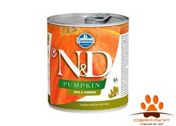 Farmina N&D Dog Pumpkin Wet Duck