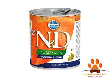 Farmina N&D Dog Pumpkin Wet Lamb & Blueberry