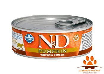 Farmina N&D Cat Pumpkin Wet Venison 80г