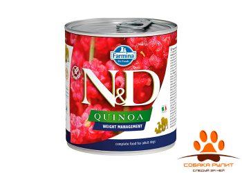 Farmina N&D Dog Quinoa Wet Weight Management